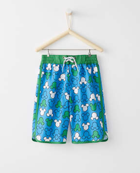 Hanna Andersson Disney Mickey Mouse Swim Shorts With UPF 50+