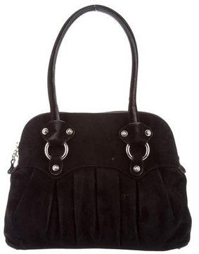 Stuart Weitzman Suede Shoulder Bag