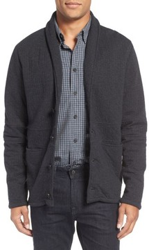 Billy Reid Men's Quilted Shawl Collar Sweater