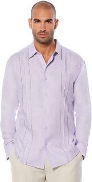 Cubavera 100% Linen Long Sleeve Shirt