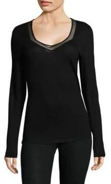 Hanro Calla Long-Sleeve Top