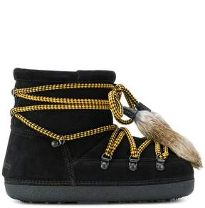 DSQUARED2 shearling lined boots
