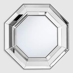 World Market Silver Octagonal Alice Mirror