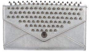 Rebecca Minkoff Studded Wallet on Chain Crossbody Bag - METALLIC - STYLE