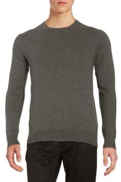 Black & Brown Black Brown Long-Sleeve Crewneck Sweater