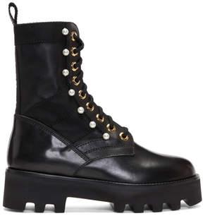 Altuzarra Black Cosmo Jungle Boots