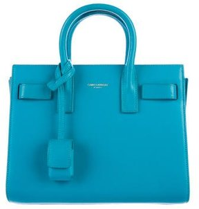 Saint Laurent Nano Sac de Jour - BLUE - STYLE