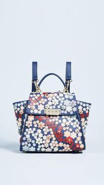 Zac Posen Eartha 3D Printed Convertible Backpack
