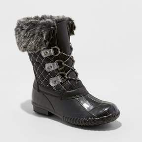 Stevies Girls' #WINTERBREAK Winter Boots - Black