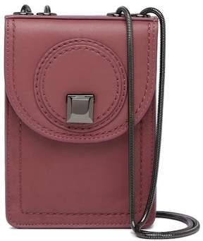 Kooba Burbank Phone Leather Crossbody Bag