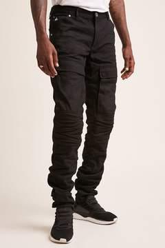 21men 21 MEN American Stitch Ruched Moto Jeans