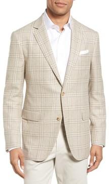 Pal Zileri Men's Plaid Wool Blend Sport Coat