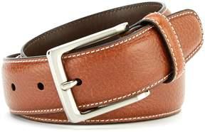 Daniel Cremieux Pebble Contrast Stitch Belt