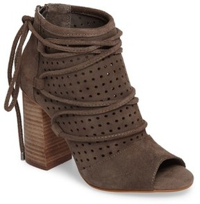 Very Volatile Women's Kalio Perforated Open Toe Bootie