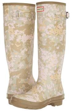 Hunter Tall Flecktarn Camo Women's Rain Boots