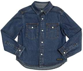 Finger In The Nose Denim Shirt