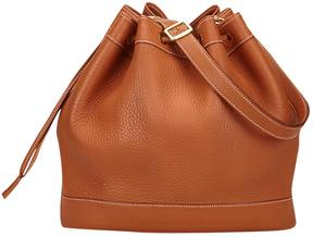 Hermes Market leather handbag - BROWN - STYLE