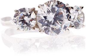 FANTASIA 3-Stone Cubic Zirconia Ring