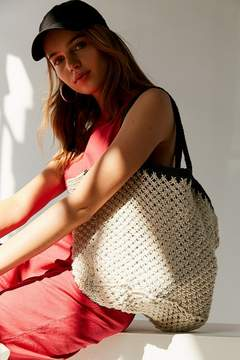 Urban Outfitters Woven Straw Tote Bag