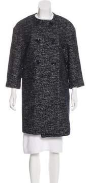 Eleventy Wool-Blend Knee-Length Coat