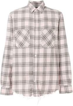 Amiri Faded Plaid shirt