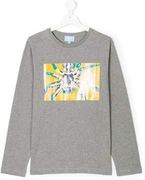 Lanvin Enfant Teen spider print sweatshirt
