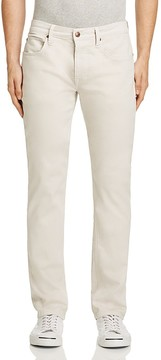 Joe's Jeans Brixton Kinetic Collection Slim Straight Fit Twill Jeans in White Smoke - 100% Exclusive