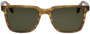 Oliver Peoples Tortoiseshell NDG I Sunglasses