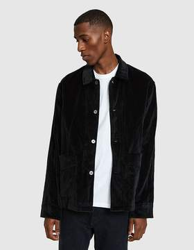 Our Legacy Box Archive Jacket Metal Black Velvet