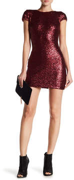 Dress the Population Lucy Sequin Mini Dress