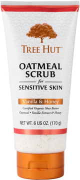 Tree Hut Vanilla & Honey Oatmeal Scrub