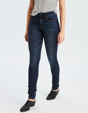 American Eagle Outfitters AE Denim X4 Hi-Rise Straight Jean