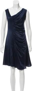 Christian Dior Silk Ruched Dress w/ Tags