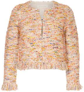 ESTNATION embroidered cardi-jacket