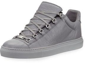 Balenciaga Men's Arena Leather Low-Top Sneaker