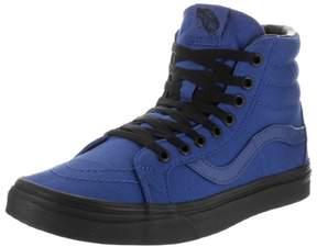Vans Unisex Sk8-Hi Reissue (Black Outsole) True Blue/Black Skate Shoe 7.5 Men US / 9 Women US