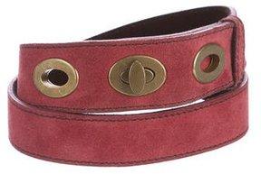 Miu Miu Nubuck Waist Belt