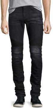 Hudson Men's Blinder Biker Skinny Jeans, Faded Black