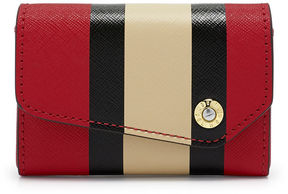 Henri Bendel West 57th Striped Business Card Case