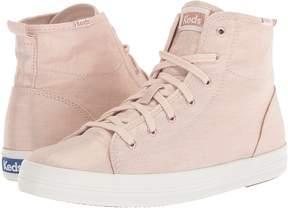 Keds Kickstart Hi Metallic Linen Women's Lace up casual Shoes