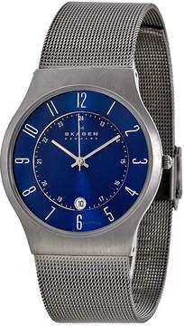 Skagen Titanium Steel Mesh Men's Watch