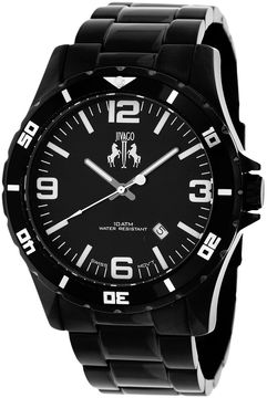 Jivago Mens Black Bracelet Watch-Jv6110