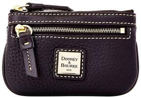 Dooney & Bourke Pebble Grain Small Coin Case - BLACK BLACK - STYLE