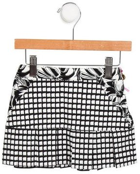 Versace Girls' A-Line Abstract Skirt