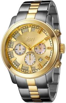 JBW Men's Delano Two-Tone & Diamond Chronograph Watch, 48mm
