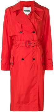 Kenzo oversized trench coat