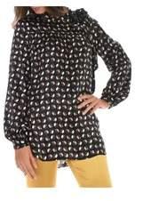 Altea Women's Black Silk Blouse.