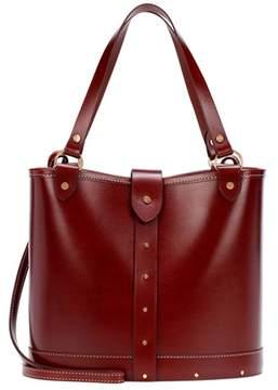 The Row Leather bucket bag