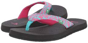 Sanuk Yoga Wildlife Girls Shoes