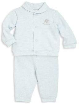 Ralph Lauren Baby's Two-Piece Cardigan & Leggings Set